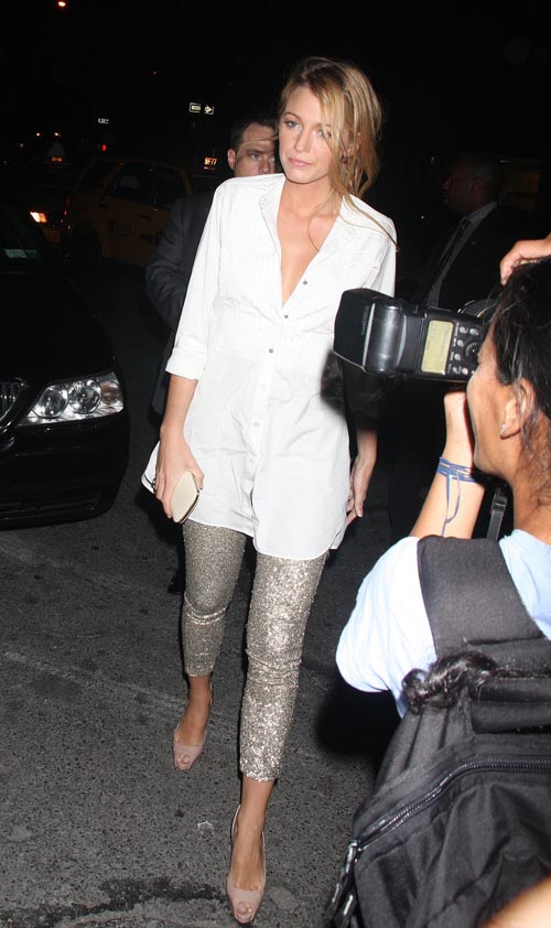 Celebs Out And About In New York City