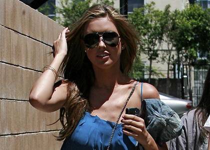 Audrina Patridge Arriving At Sunset Landmark In Hollywood